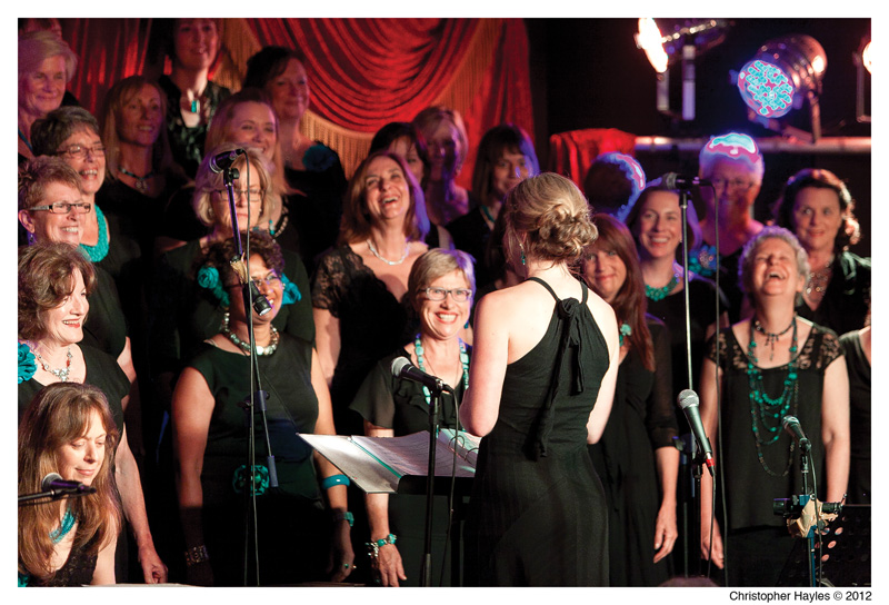 A cappella singing groups a hit on the north shore