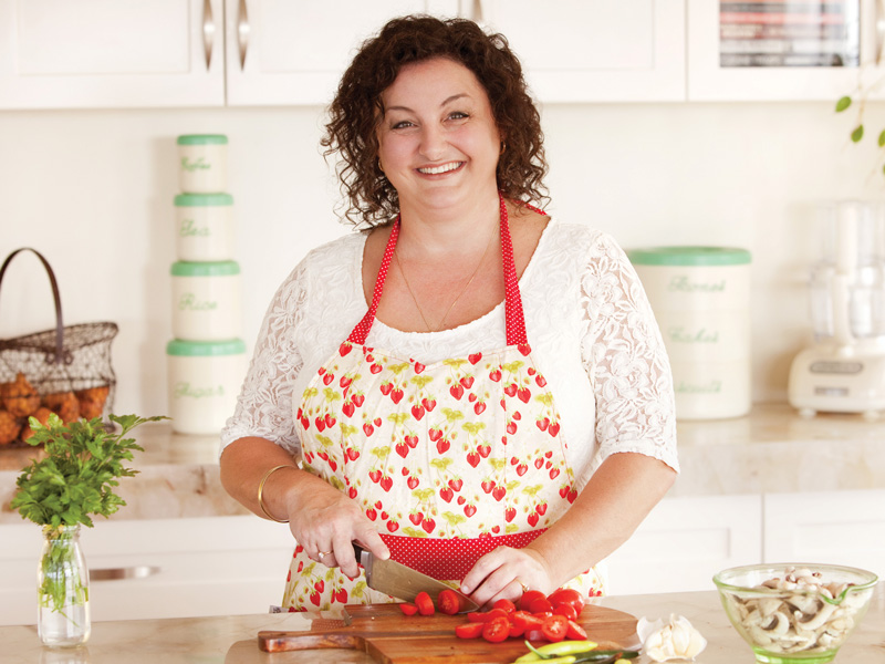 Julie Goodwin: shares her secrets behind cooking at gatherings