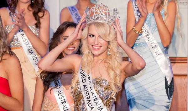 Erin Holland: Miss World Australia