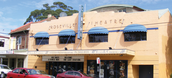 Armed robbery at Roseville cinema