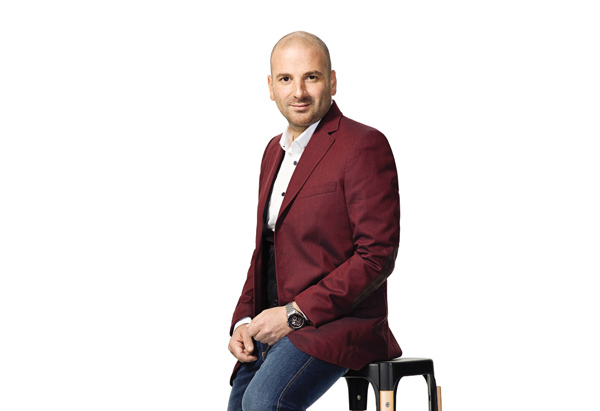 George Calombaris gets ready for Press Club reopening