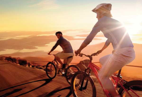 On your bike: get in shape by cycling