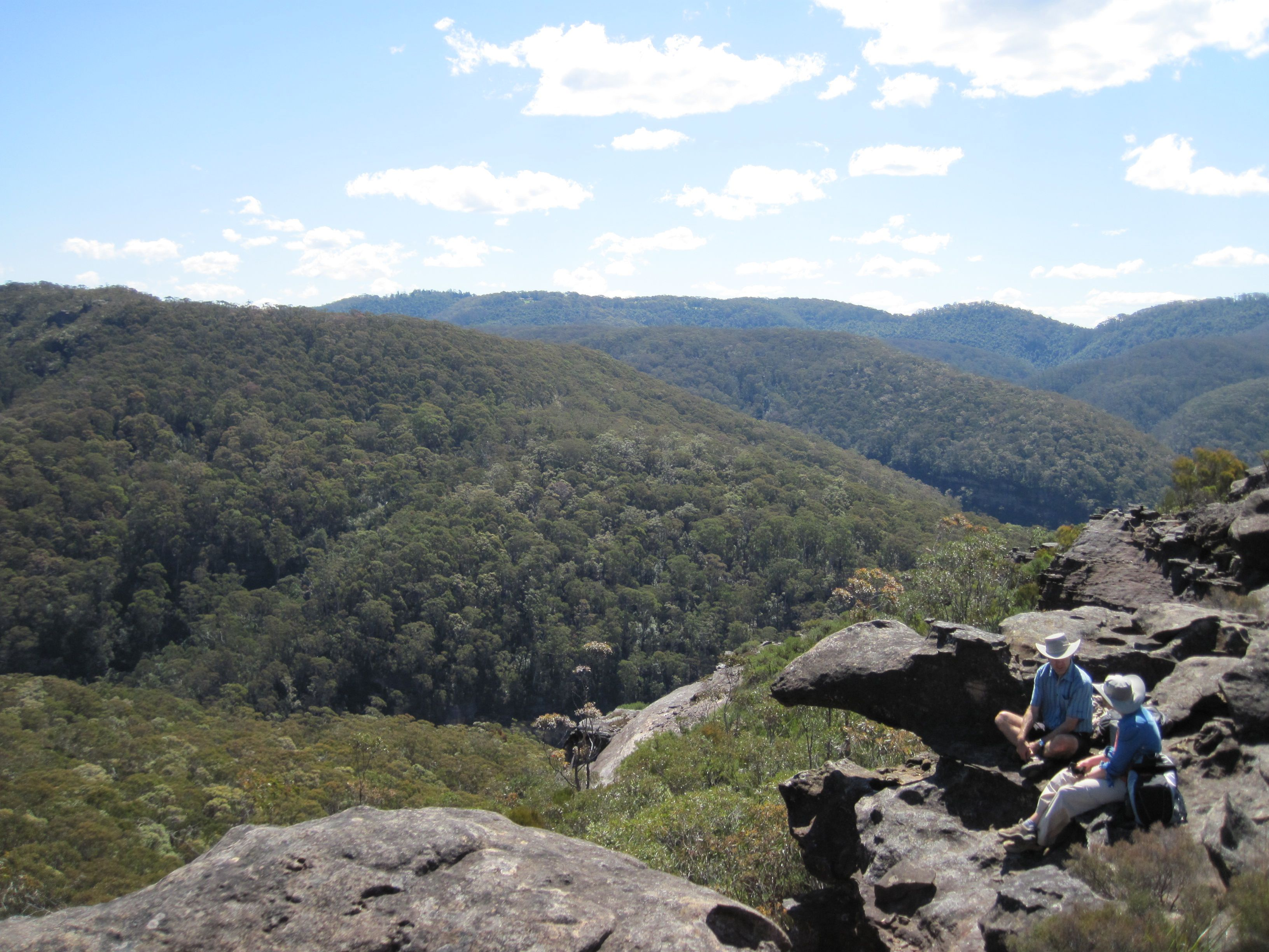 Getting off the beaten track in the beautiful Blue Mountains