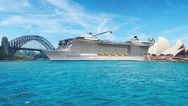 Super-Indulgent Cruise Liner Heads for Oz