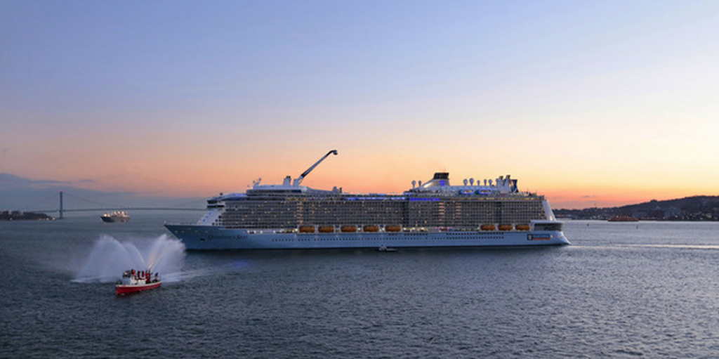 Ovation of the Seas' little sister: Quantum of the Seas