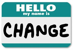 career change nametag
