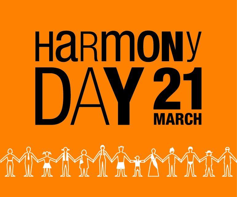 EVERYONE BELONGS ON HARMONY DAY