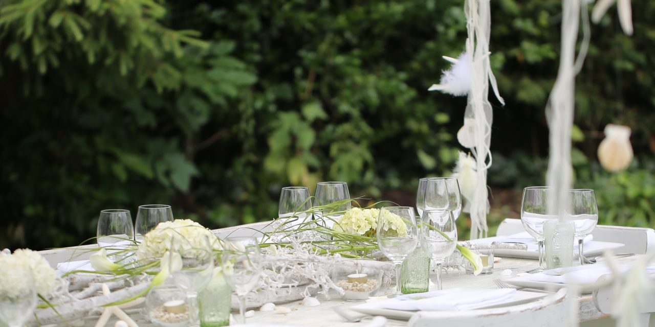 How to host the perfect garden party