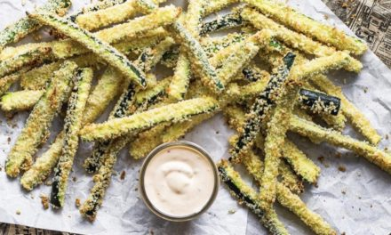 Baked Zucchini Fries: The Perfect Appetiser