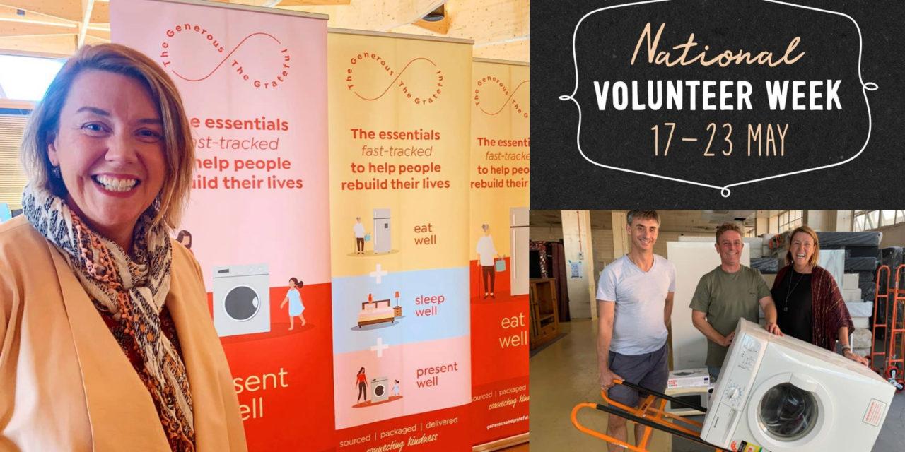 National Volunteer Week: Generous and the Grateful