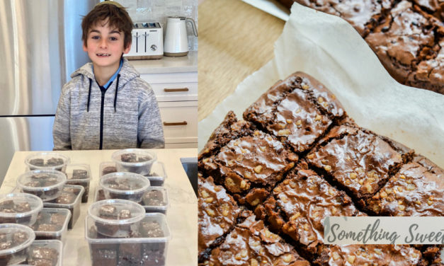 Local Boy's Brownie Business Amid Lockdown